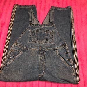 Arizona denim bib overalls XL